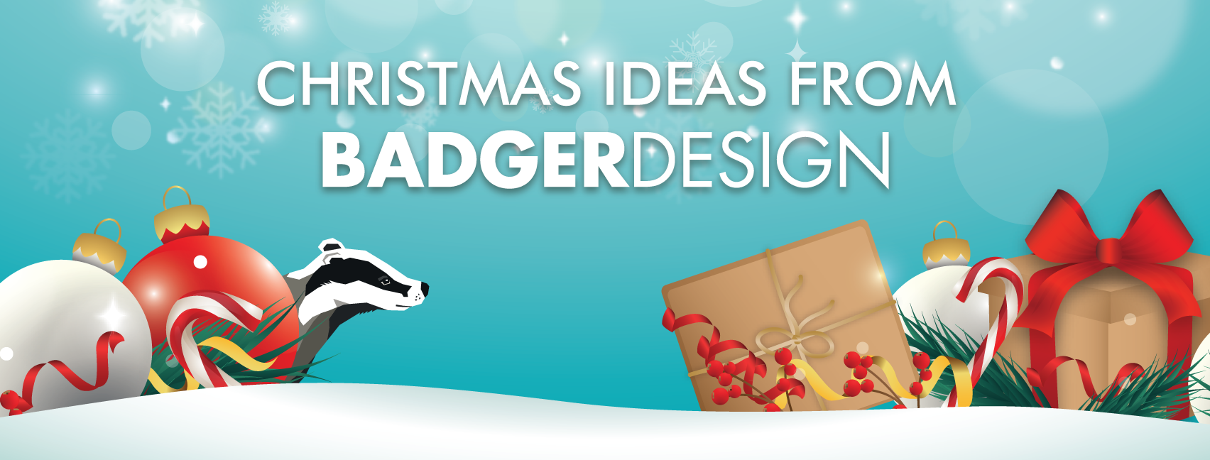 Christmas ideas from Badger Design